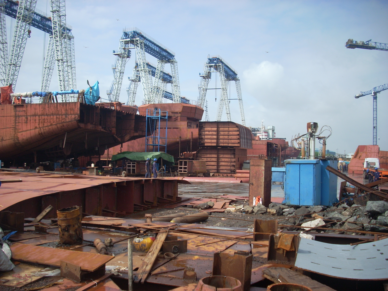Ship Building & Fabrication - Kenmark Tech Solutions